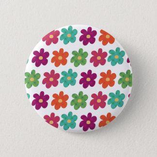 Dances With Flowers 2 Inch Round Button