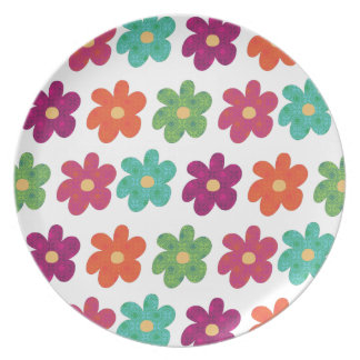 Dances With Flowers Plate