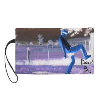 Dancin Boy Wristlet Cosmetic Bag