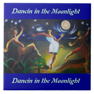 Dancin in the Moonlight Wall Tile