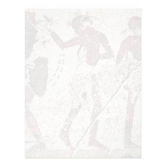 Dancing Africans By Maler Der Grabkammer Des Horem Letterhead Design