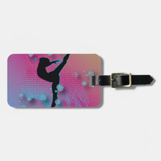 Dancing Artist Luggage Tag