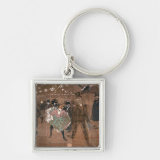 Dancing at the Rouge Keychain
