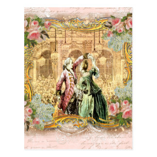 Dancing at Versailles Postcard