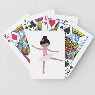 DANCING BALLERINA BICYCLE PLAYING CARDS