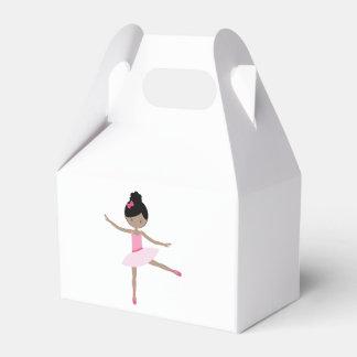 DANCING BALLERINA FAVOR BOX