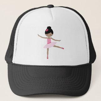 DANCING BALLERINA TRUCKER HAT