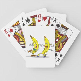 Dancing Bananas Playing Cards