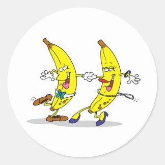 Dancing Bananas Stickers