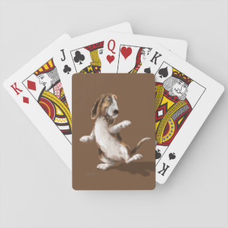 Dancing Bassett Playing Cards