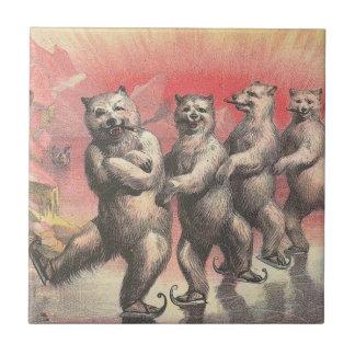Dancing Bears Tiles