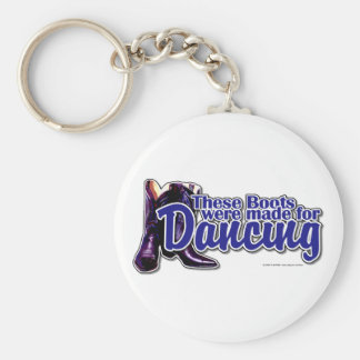 Dancing Boots Keychain