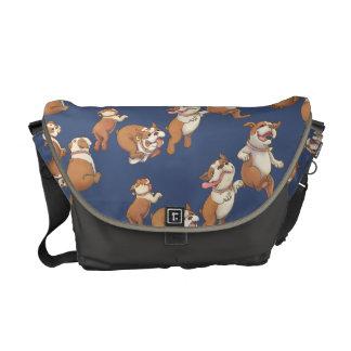 Dancing Bulldog Commuter Bag