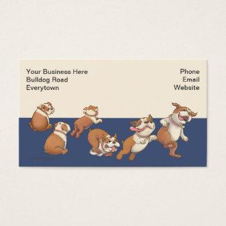 Dancing Bulldogs Business Card