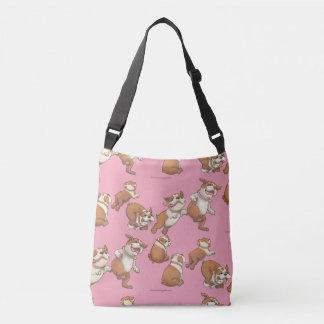 Dancing Bulldogs Crossbody Bag