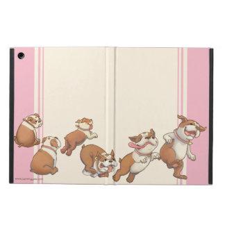 Dancing Bulldogs iPad Air Covers