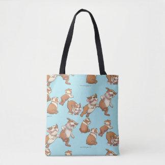 Dancing Bulldogs Tote Bag