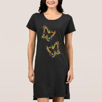 Dancing Butterfly Splash Dress