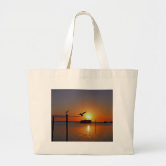 Dancing by Firelight Large Tote Bag