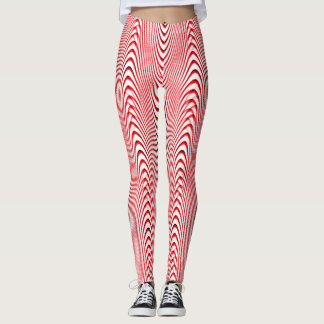 Dancing Candy Canes... Leggings