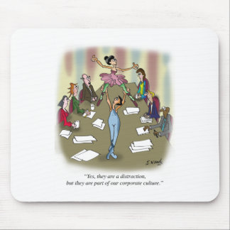 Dancing Cartoon 9386 Mouse Pad