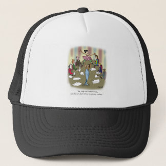 Dancing Cartoon 9386 Trucker Hat