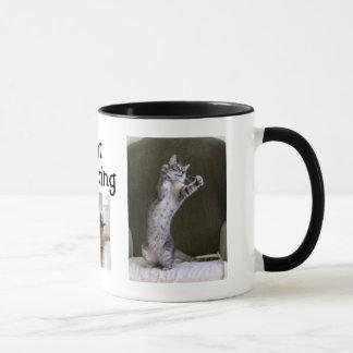 Dancing Cats Coffee or Tea Mug