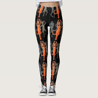 Dancing Cats Leggings