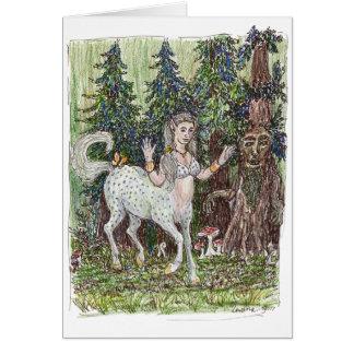 Dancing Centaur Greeting Card