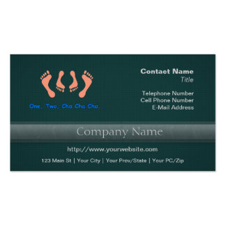 Dancing Cha Cha Feet Business Card