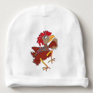 Dancing Chicken Baby Beanie