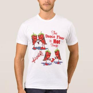 Dancing Chili Peppers Hot Tonight T-Shirt