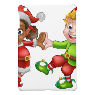 Dancing Christmas Elves Case For The iPad Mini