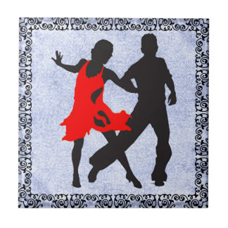 DANCING COUPLE 1 TILE... TILE