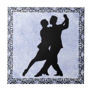 DANCING COUPLE 2 TILE... TILE