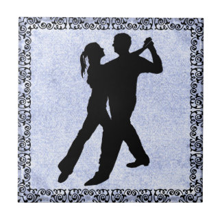 DANCING COUPLE 3 TILE... TILE