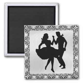 DANCING COUPLE 4 -magnet Magnet