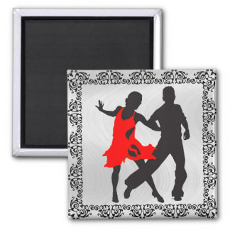 DANCING COUPLE -magnet Magnet