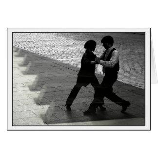 Dancing Couple Notecard