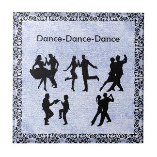DANCING COUPLE .. TILE