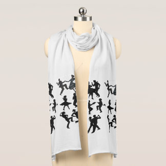DANCING COUPLES-2 SCARF