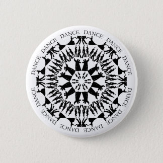 Dancing Couples Mandala Button 1