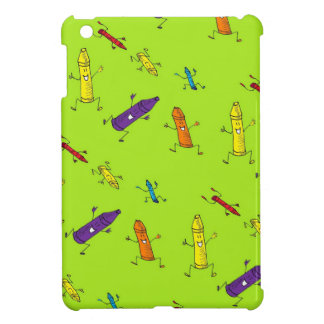 dancing crayons i-pad mini case iPad mini case