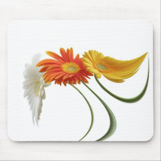Dancing daisies mouse pad
