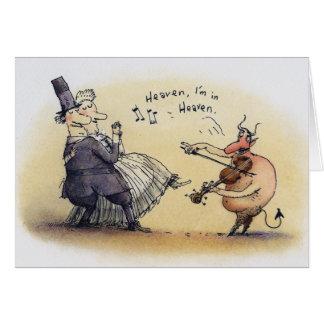Dancing Devil Card