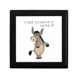 Dancing Donkey Gift Box