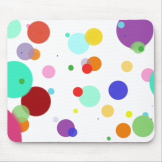 Dancing Dots Mouse Pad