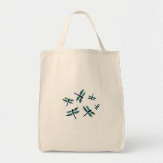 Dancing Dragonfly Bag Art