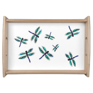 Dancing Dragonfly Serving Tray