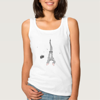 Dancing Eifeltower Tank Top